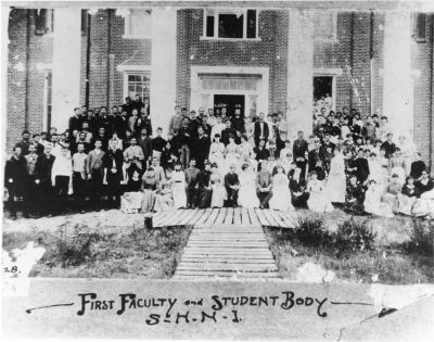 First Faculty & Students, 1879-1880