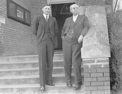 Sociology Faculty, L.A. McGhee and R.M. Woods