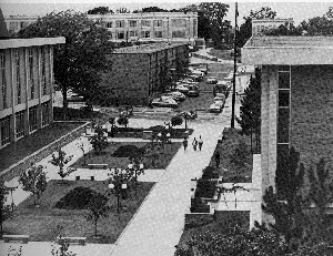 Mall area in 1975