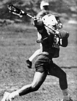 Pat Atwood taking a shot.