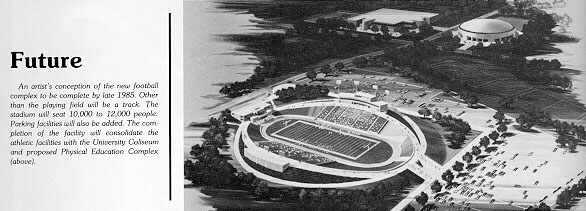 Artist's Conception of Bowers Stadium