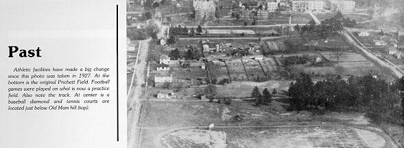 Pritchett field in 1927