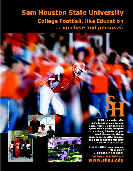 SHSU Advertised