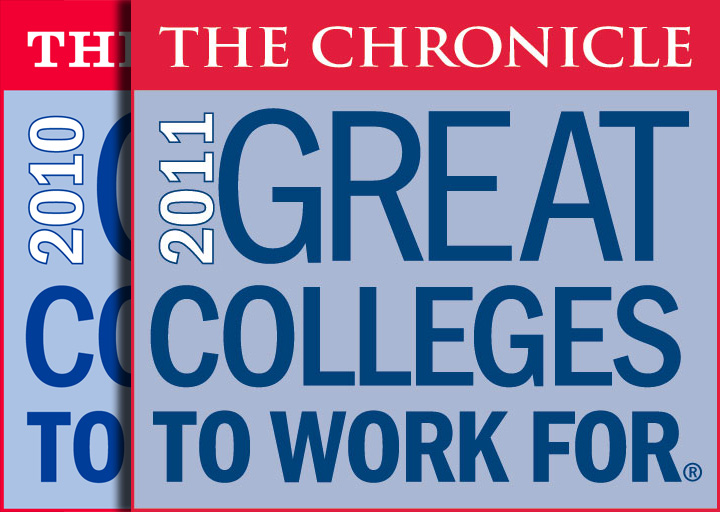 2010 and 2011 Great Colleges to Work For