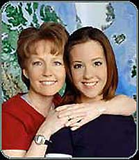 Photo of Emily Hoyt and her mother Nancy