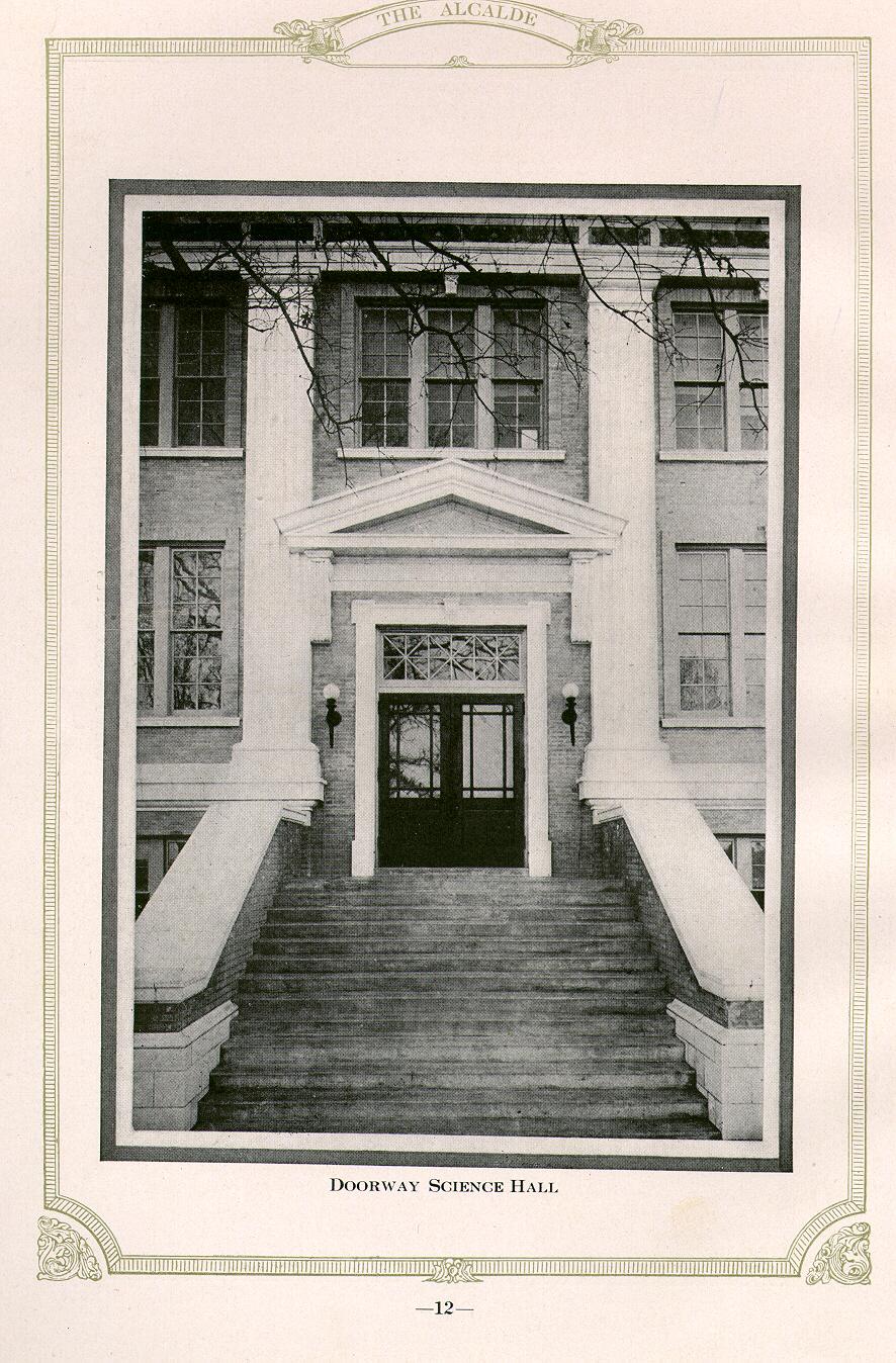 Science Building entrance