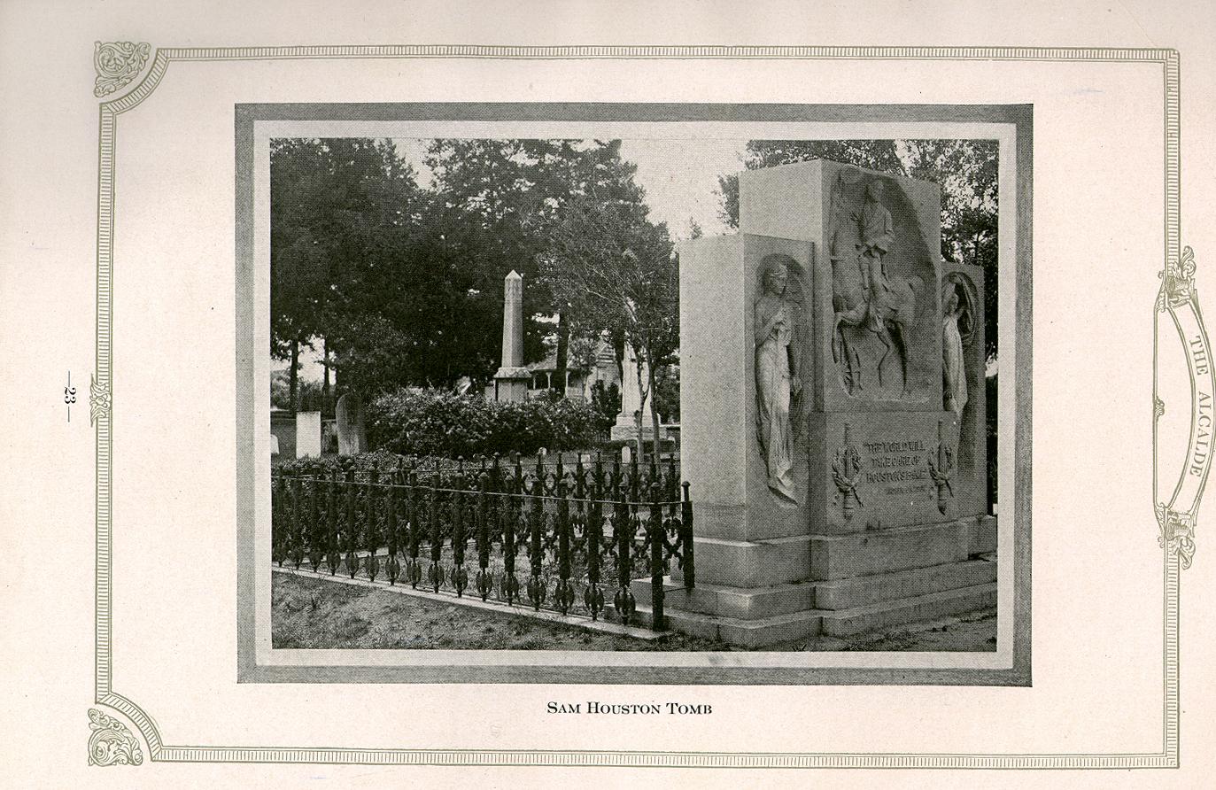 Sam Houston's tomb
