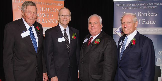 2014 Texas Bankers Hall of Fame Honorees