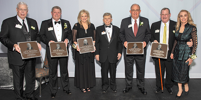 2019 Texas Bankers Hall of Fame Honorees