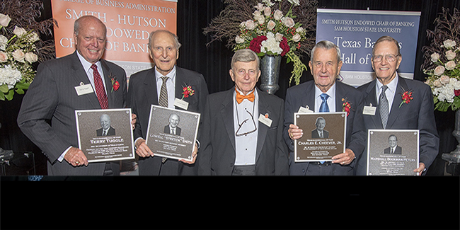2016 Texas Bankers Hall of Fame Honorees
