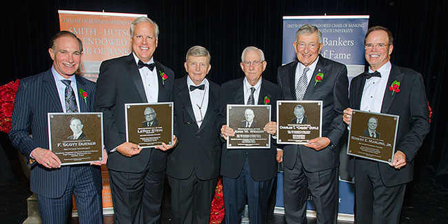 2015 Texas Bankers Hall of Fame Honorees