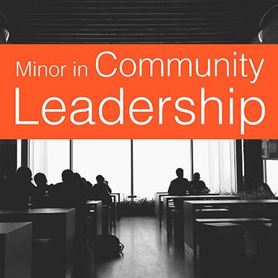 Minor in Community Leadership