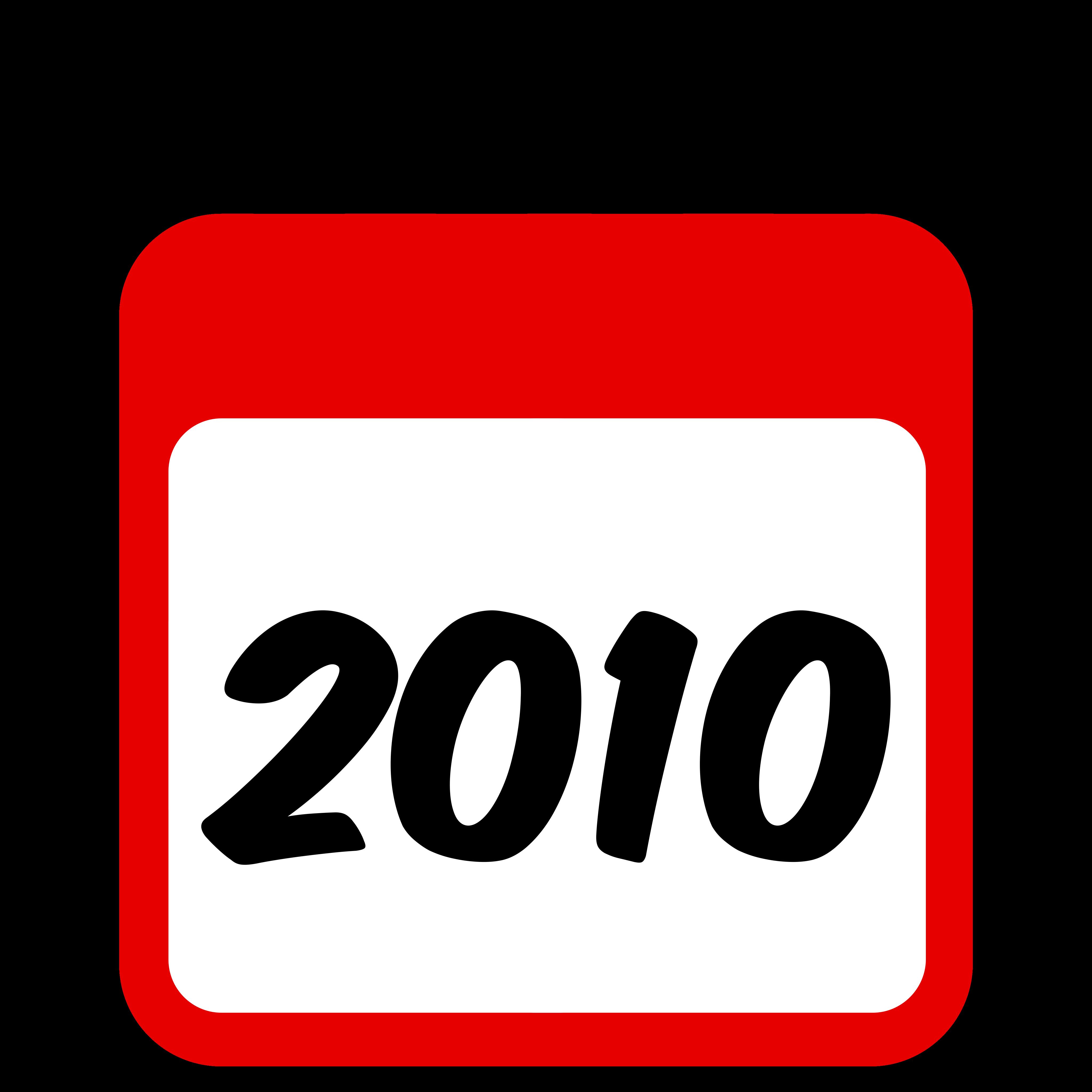 2010 Calendar Graphic