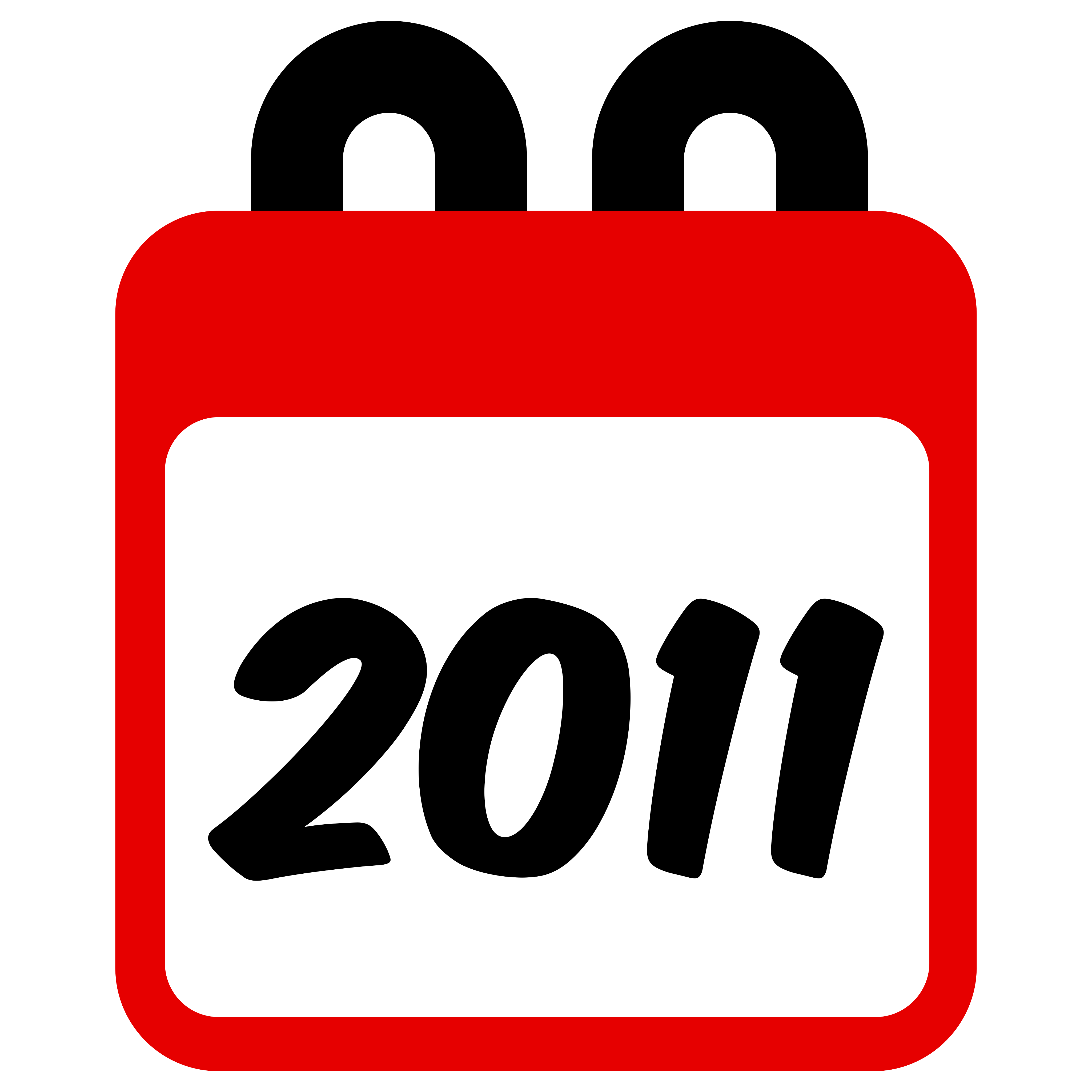 2011 Calendar Graphic