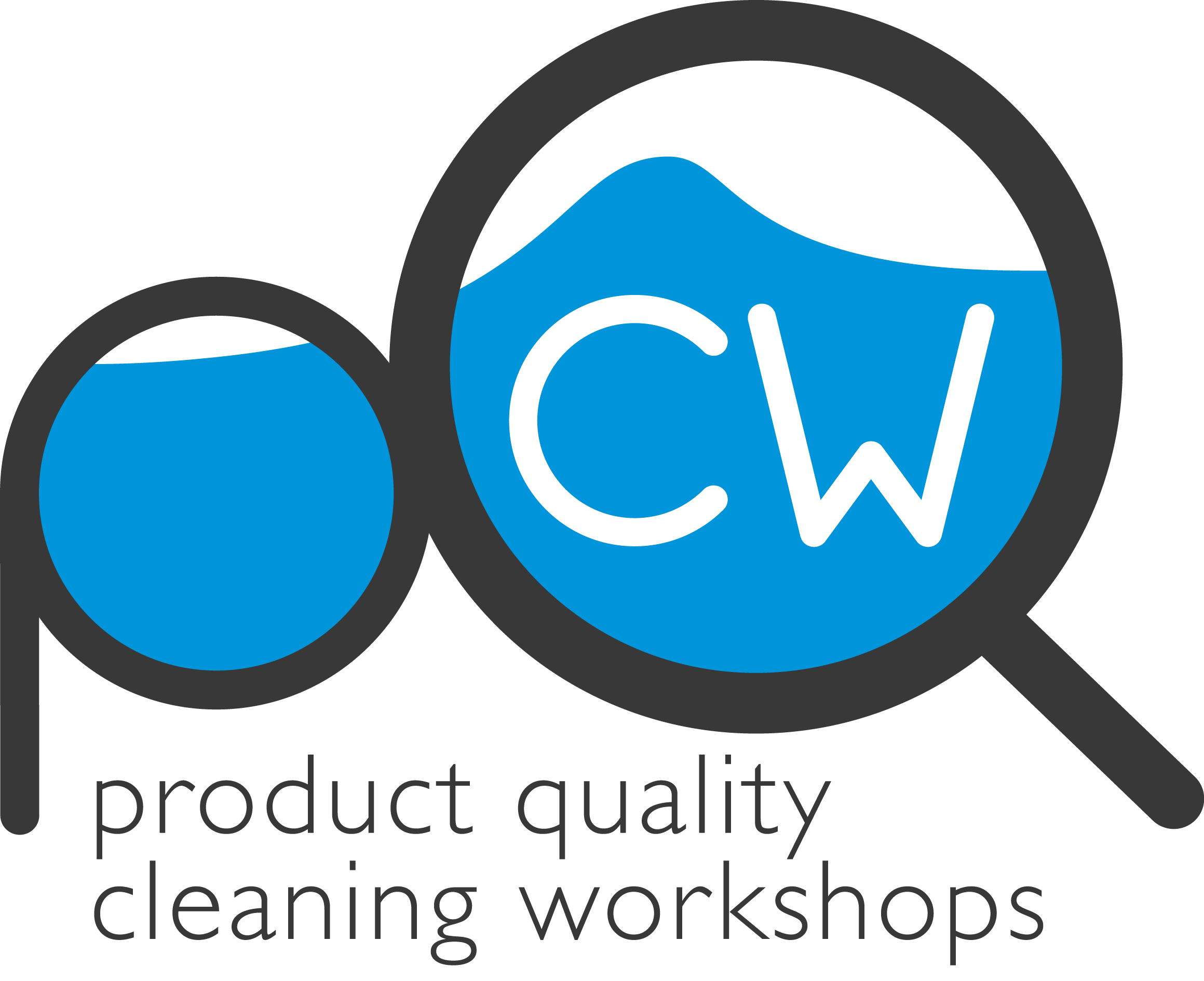 product quality cleaning workshop logo