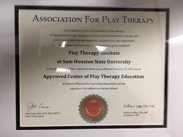 Graduate Certificate in Play Therapy: Overview