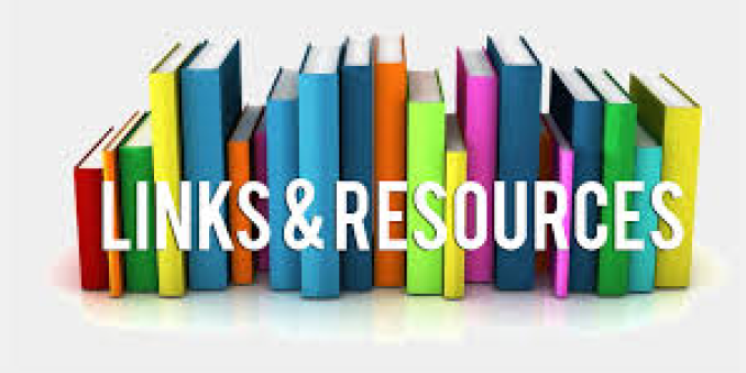 Books with a Links and Resources label