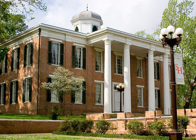Austin Hall on the SHSU Campus in Huntsville, TX