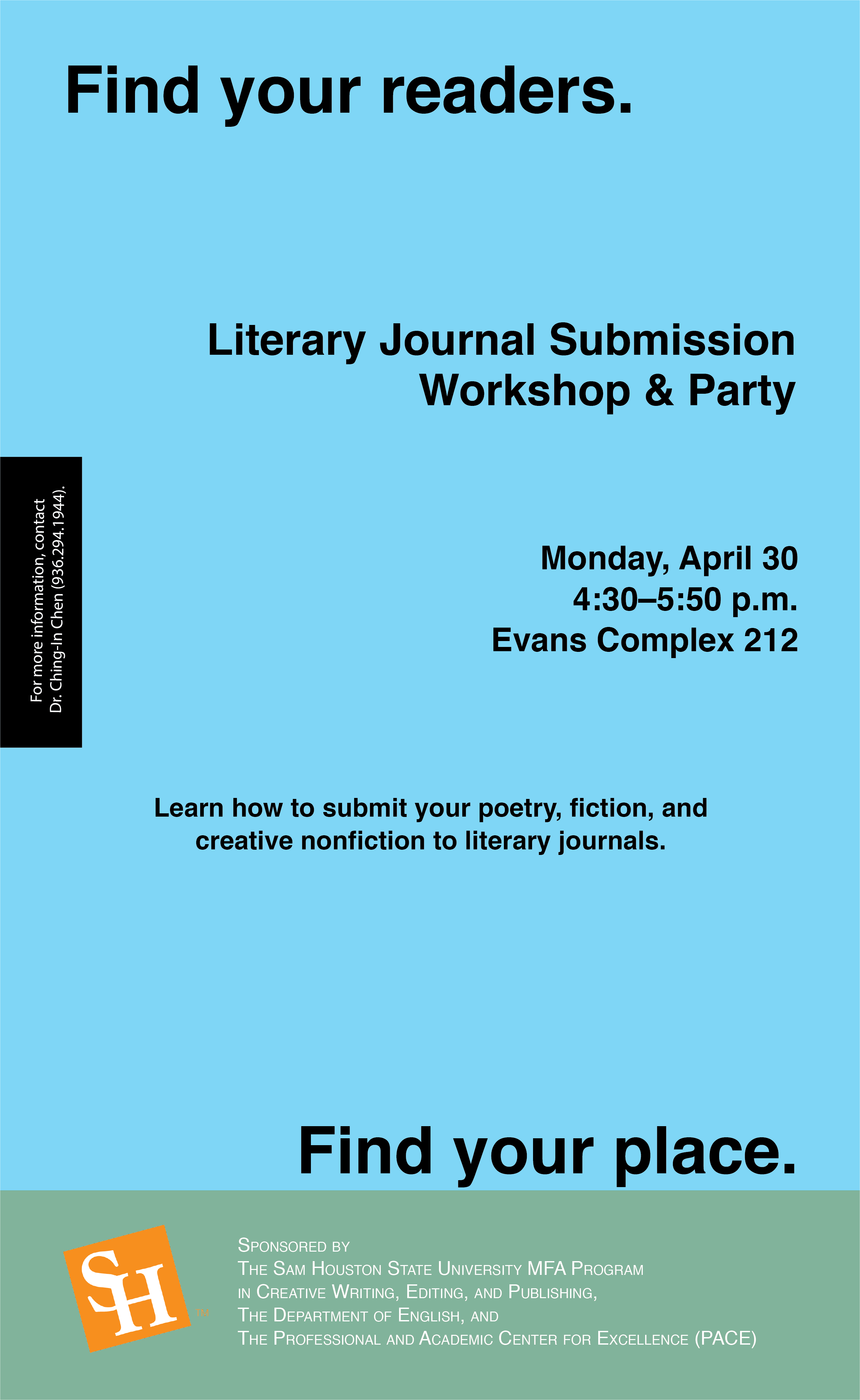Literary Journal Submission Workshop