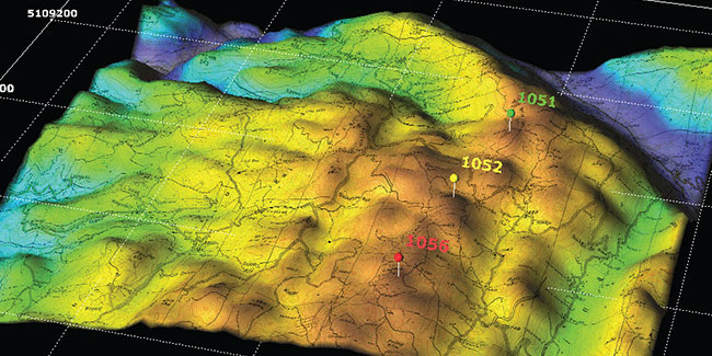 Geographic Information System 3d Map