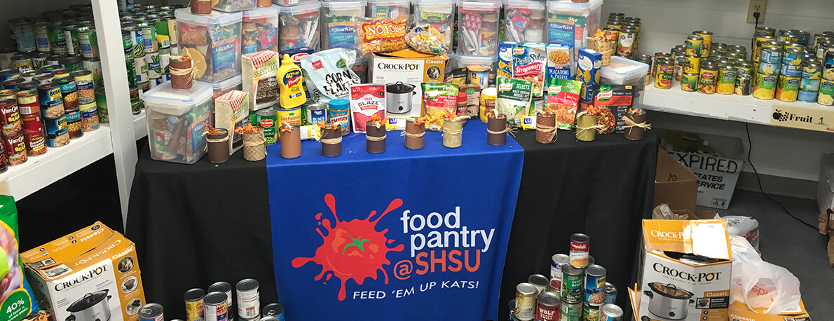overview of donations in food pantry