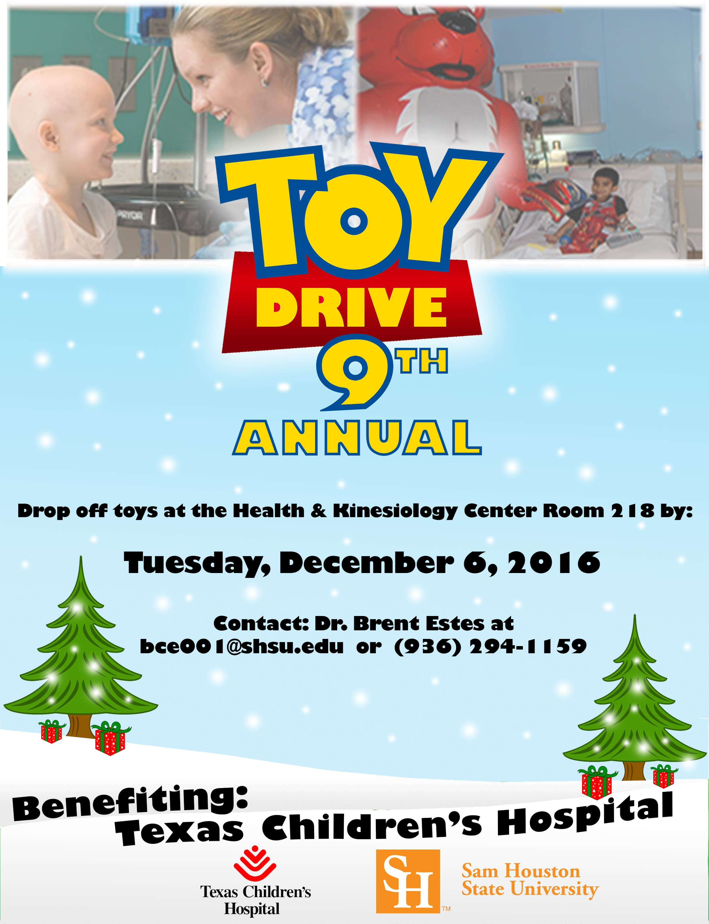Toy Drive Flyer (2016)