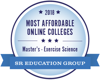 2018 Most Affordable Online Colleges Masters - Exercise Science SR Education Group