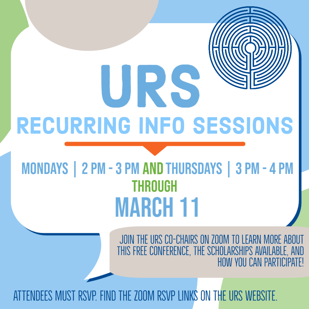 URS2021 Recurring Info Session Flyer