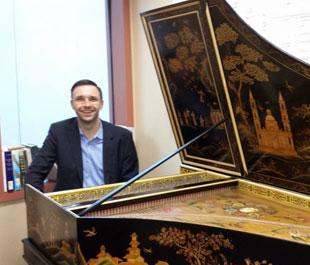 Mario Aschauer at Harpsichord