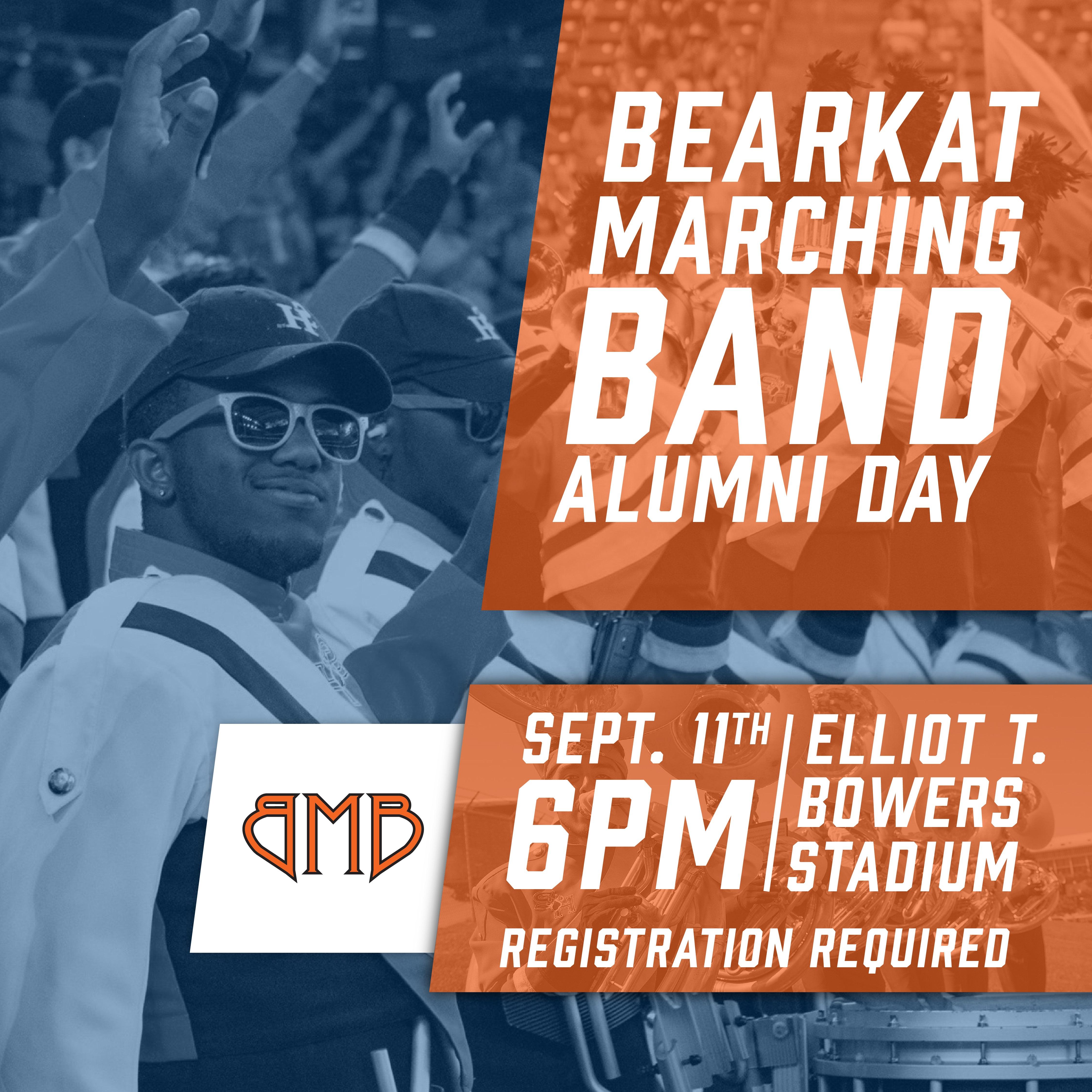 Bearkat Marching Band