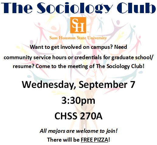 Sociology Club Recruitment.fall16