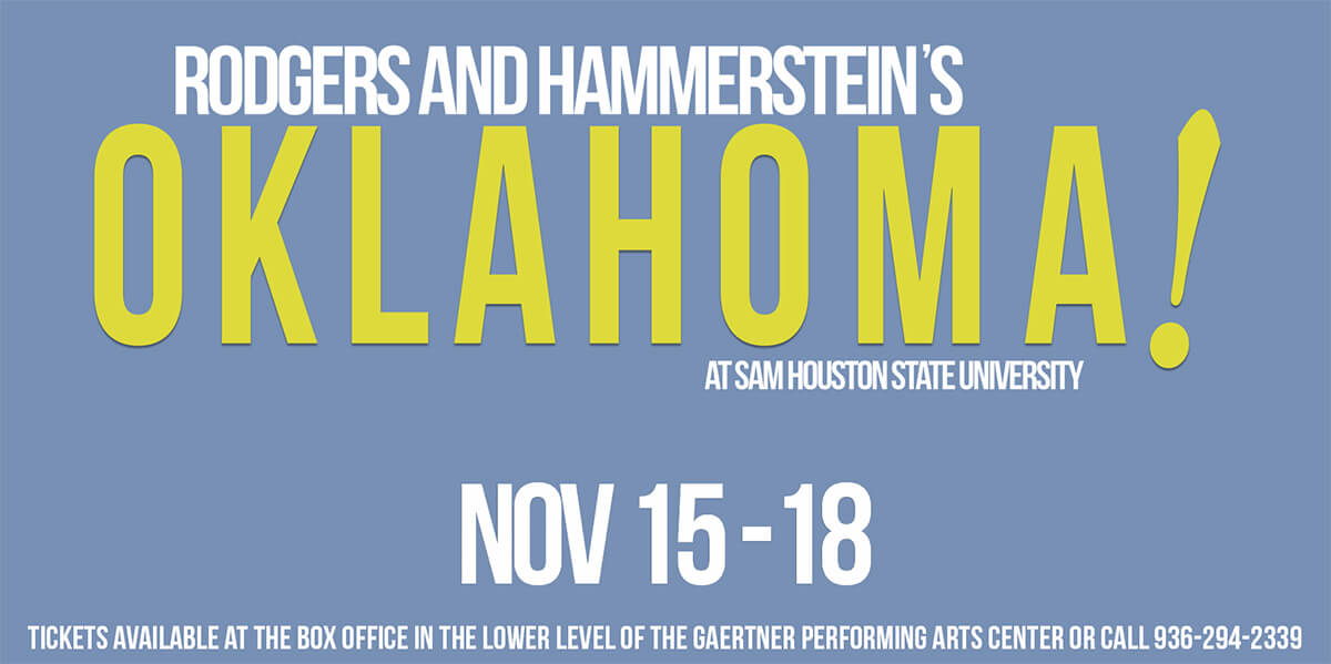 Rodgers and Hammerstein Oklahoma! at SHSU