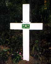 Erica Starr memorial cross