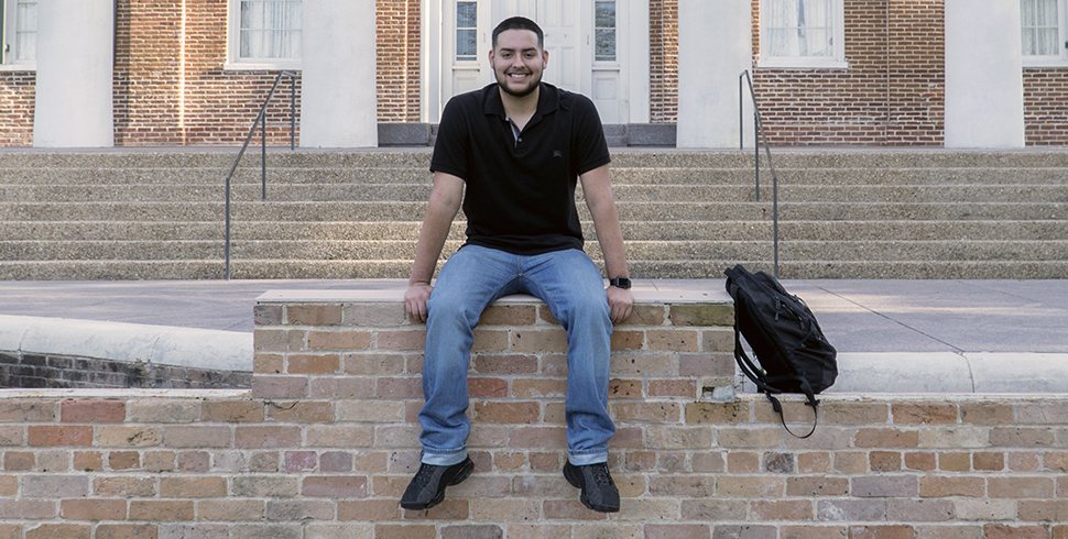 Christian Martinez, Criminal Justice Major