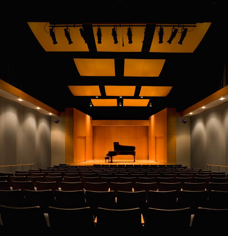Gaertner Performing Arts Center Recital Hall
