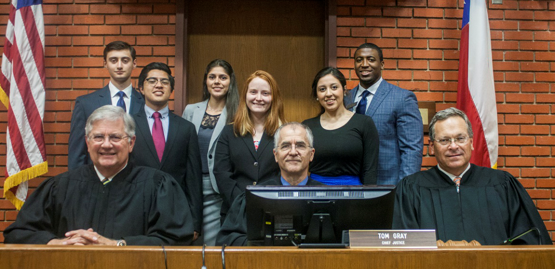 The LEAP Center brings the 10th Court of Appeals to SHSU annually.