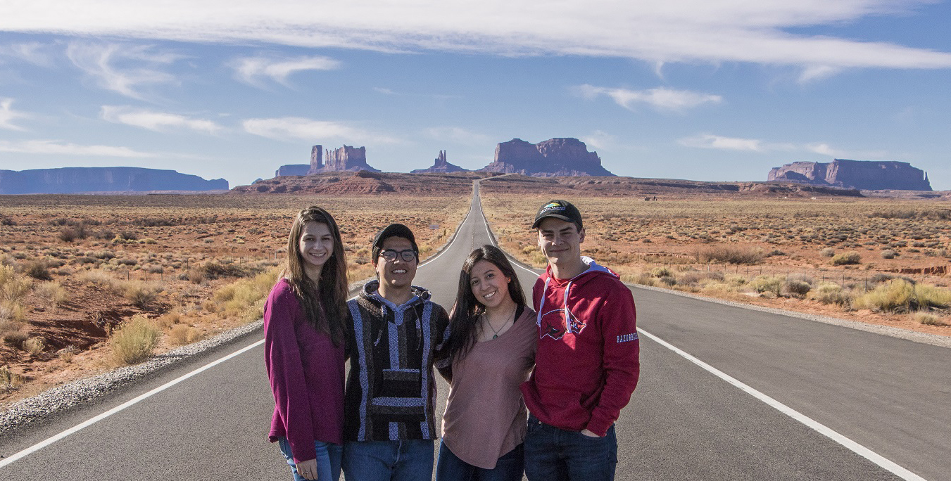 LEAP Ambassadors Visit Monument Valley