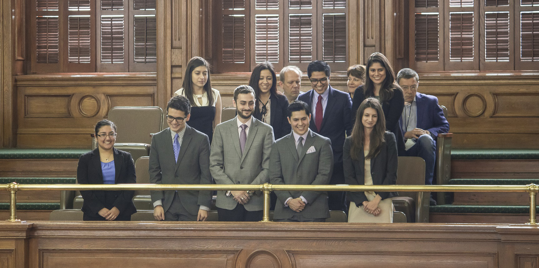 Sam Houston Austin Internship Program Students Honored on Senate Floor