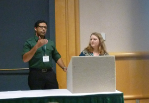 Center Students Present on Hydraulic Fracturing at Regional Meeting