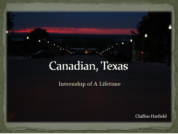 Canadian, Texas by Chiffon Hatfield
