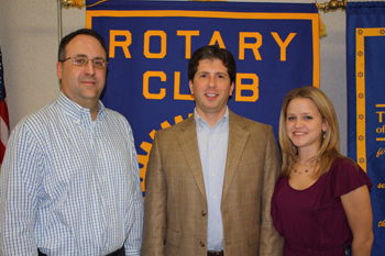 Center Speaks at Local Rotary Club Meeting