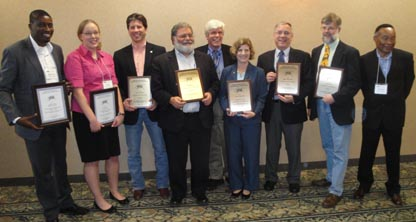 Director Receives Research Award at Rural Conference