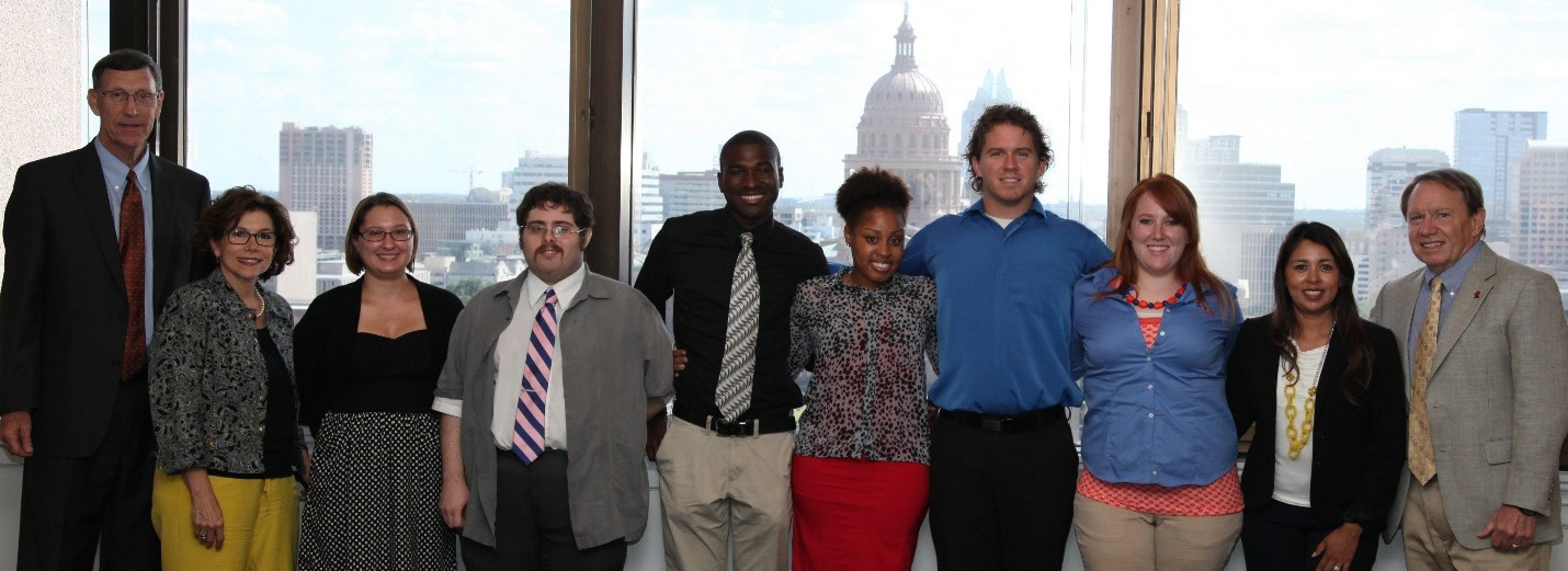 2013 TRIP interns with Texas Department of Agriculture employees at TDA headquarters
