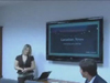 Chiffon Hatfield presenting