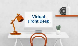 Virtual Front Desk Clickable Image