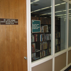 The Adams Reading Room is reserved for use by Honors Students and approved graduate students. It is named after the late Dr. Loyce Adams, a professor of Business Administration who also wrote poetry and novels and was an amateur artist.