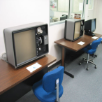 The Microforms Room provides machines for viewing microforms; certain machines can print copies of microforms for 25 cents per page.