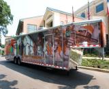 42' goosneck trailer with satellite internet and diesel generator