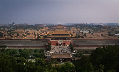 thumbnail view of Cultural Exposure - Nicholas Hudzinski - China - Summer 2019 - Forbidden City 2 - An arial look into the Forbidden City