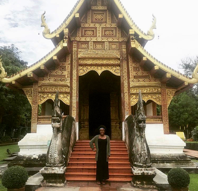 thumbnail view of Faces of Study Abroad - Keiana Mayers - Thailand - Summer 2017 - Temple - Visiting temples